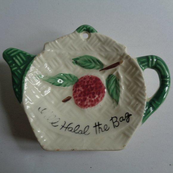 Vintage Other - Vintage Tea Bag Holder Cherry from Japan